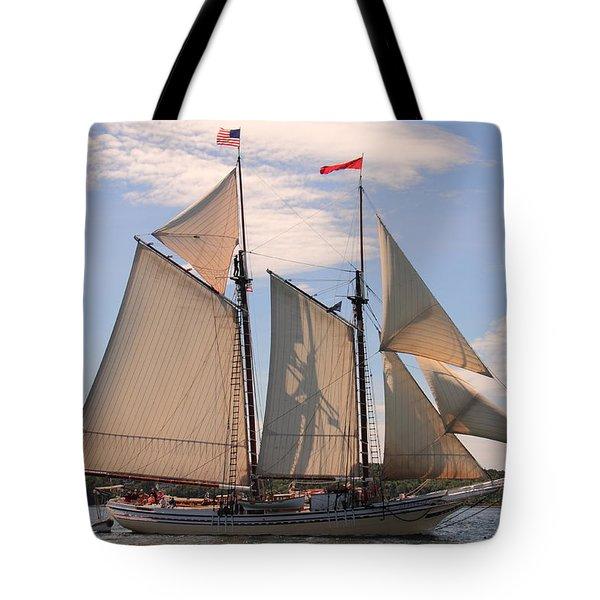 Heritage Full Sail Tote Bag
