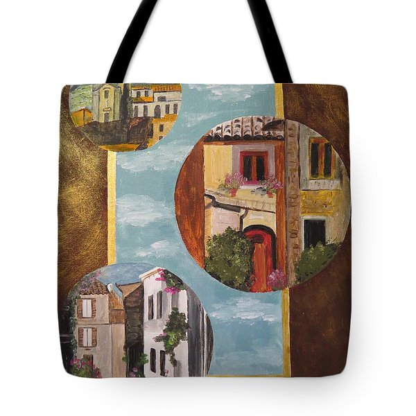 Heritage Tote Bag by Judy Via-Wolff