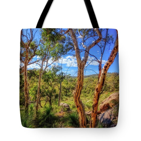Tote Bag featuring the photograph Heritage View, John Forest National Park by Dave Catley