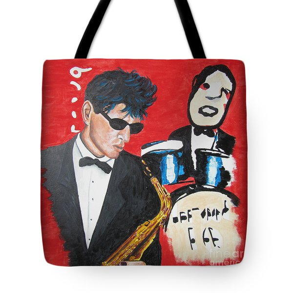 Herman Brood Jamming With His Art Tote Bag
