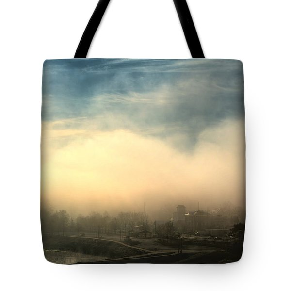Tote Bag featuring the photograph Hermann On The Missouri Iv by William Fields