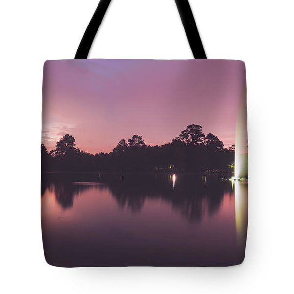Tote Bag featuring the photograph Hermann Park by Ray Devlin