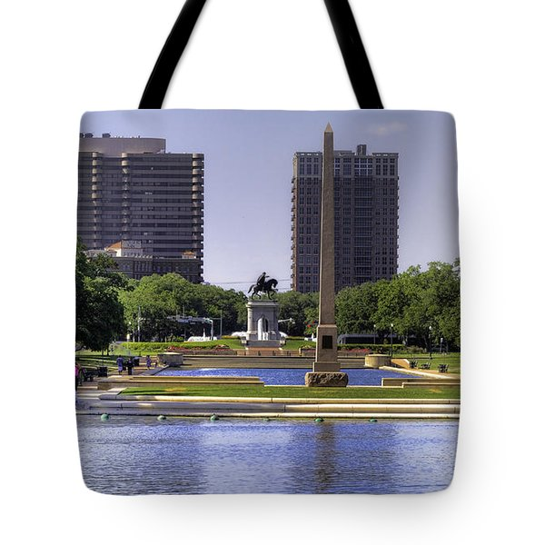 Hermann Park Tote Bag by Tim Stanley
