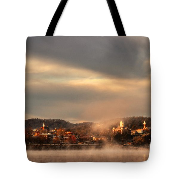 Hermann Rising From The Mists Tote Bag