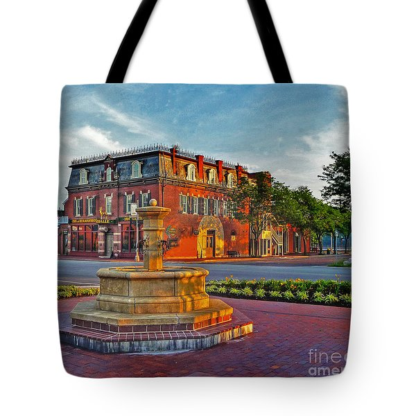 Hermannhof Festhalle Tote Bag by William Fields