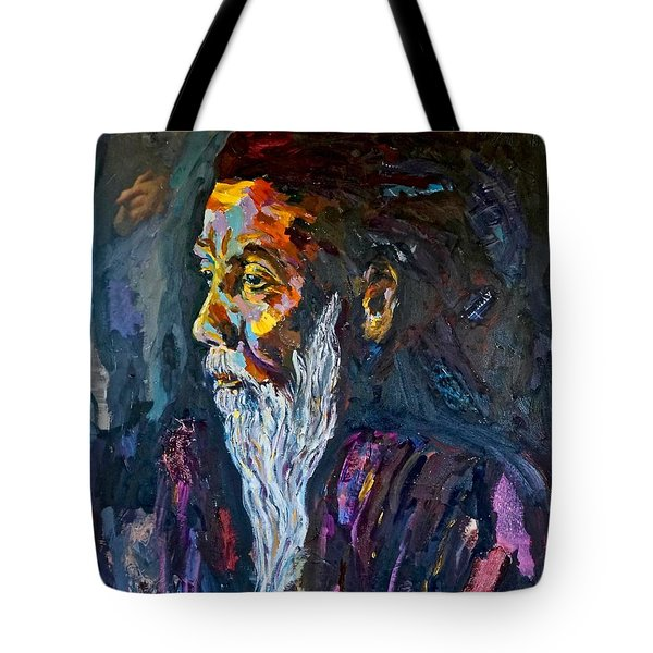 Hermit At Golden Rock, Burma Tote Bag