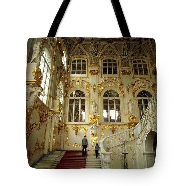 Hermitage Staircase Tote Bag