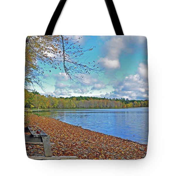 Fall Picnic In Maine Tote Bag