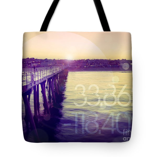 Tote Bag featuring the photograph Hermosa Beach California by Phil Perkins