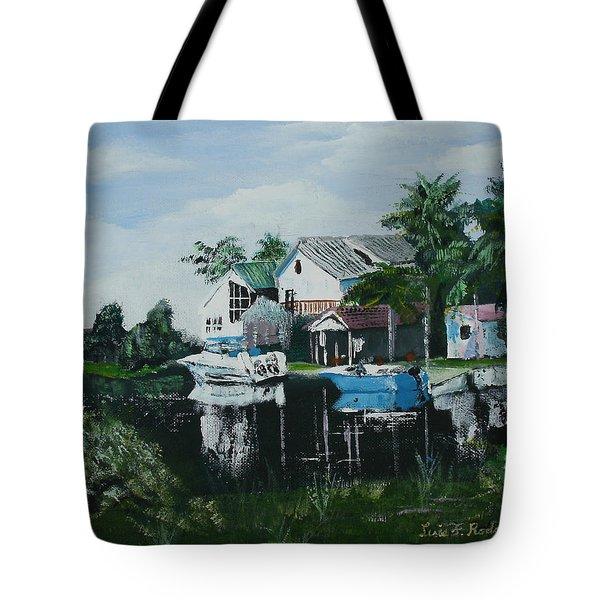 Hernando Beach Tote Bag by Luis F Rodriguez