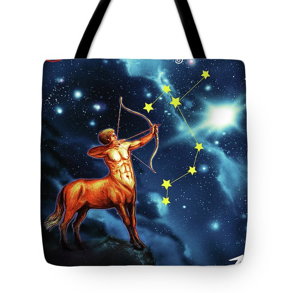 Hero Of The Stars Tote Bag