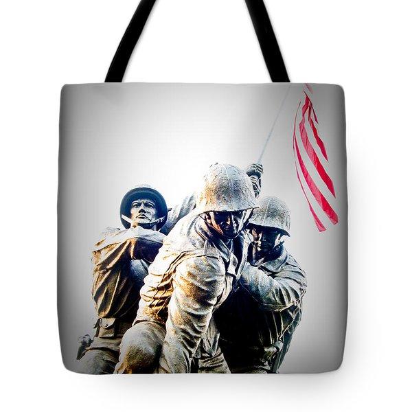 Heroes Tote Bag by Julie Niemela