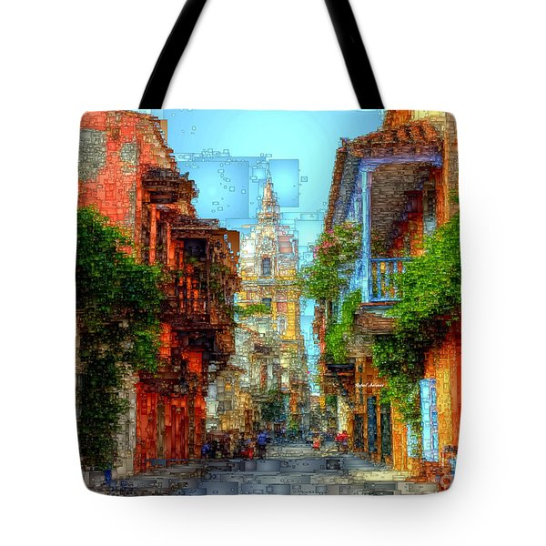 Heroic City, Cartagena De Indias Colombia Tote Bag