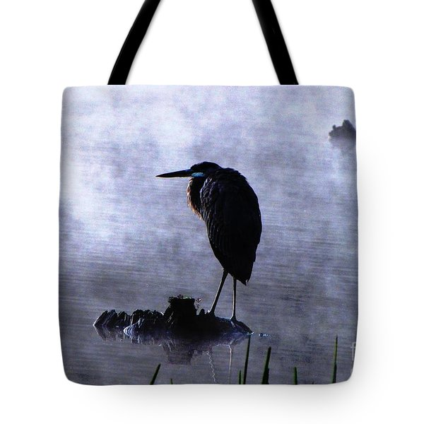 Tote Bag featuring the photograph Heron 4 by Melissa Stoudt