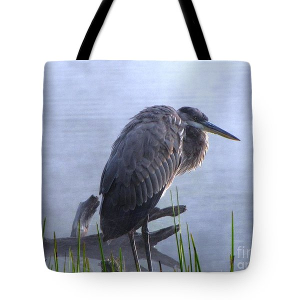 Tote Bag featuring the photograph Heron 5 by Melissa Stoudt