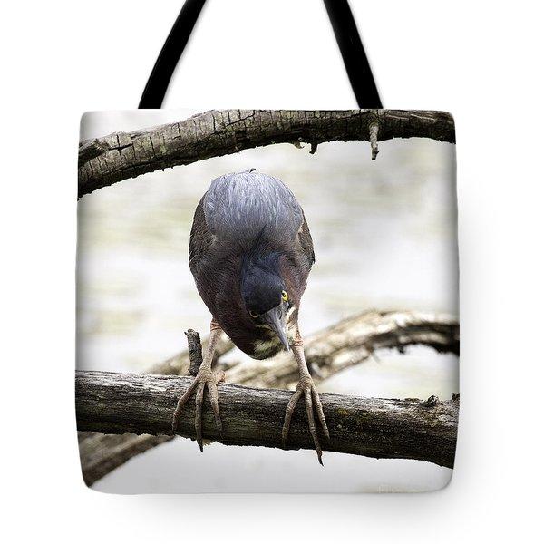 Heron Attitude Tote Bag