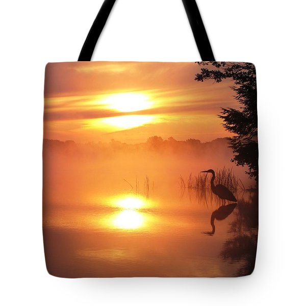Tote Bag featuring the photograph Heron Collection 2 by Melissa Stoudt