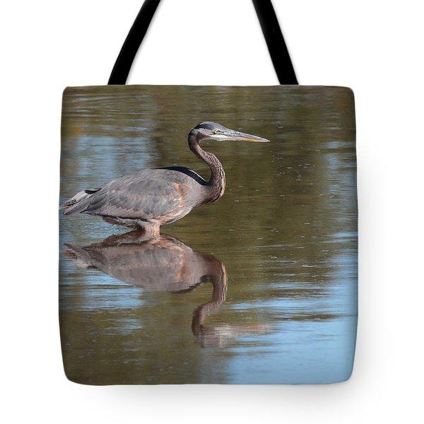 Heron Tote Bag