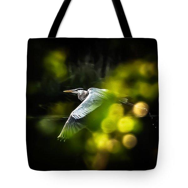 Heron Launch Tote Bag