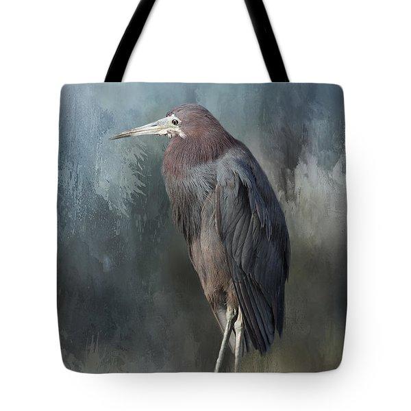 Heron Profile Tote Bag