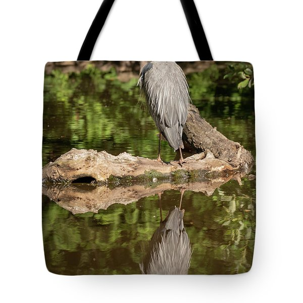Tote Bag featuring the photograph Heron X 2 by Ross G Strachan