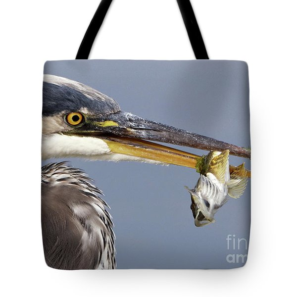 Herons Appetizer Tote Bag