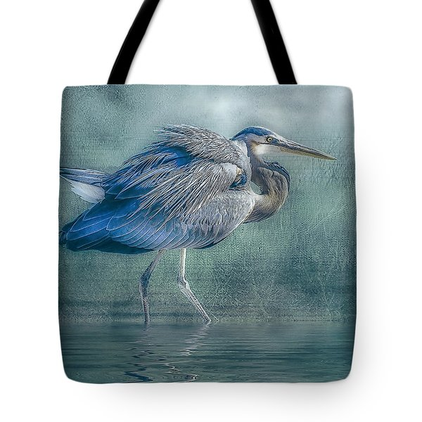 Heron's Pool Tote Bag