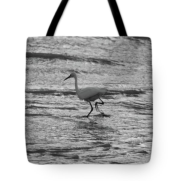 Herons Walk Tote Bag