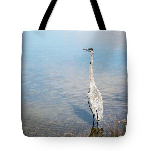 Heron's Watch Tote Bag