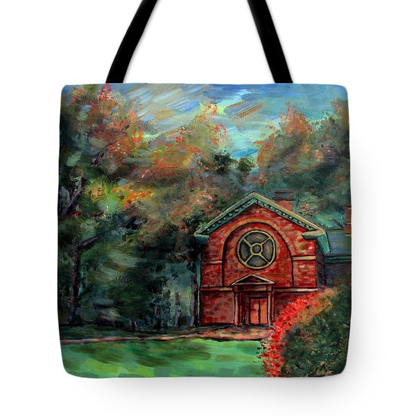 Herring Cole In Early September Tote Bag by Denny Morreale