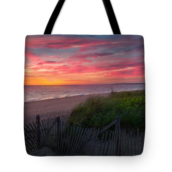 Herring Cove Beach Sunset Tote Bag
