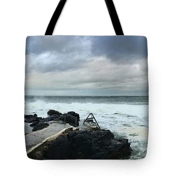 Tote Bag featuring the photograph Herring Pond Panorama by Colin Clarke
