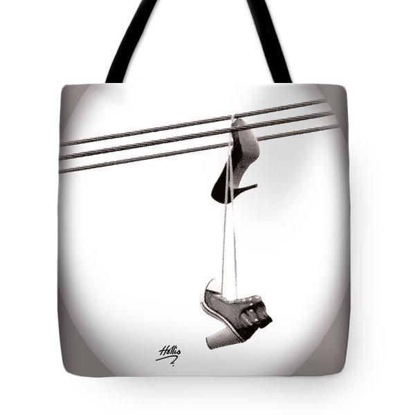 Hers Tote Bag by Linda Hollis