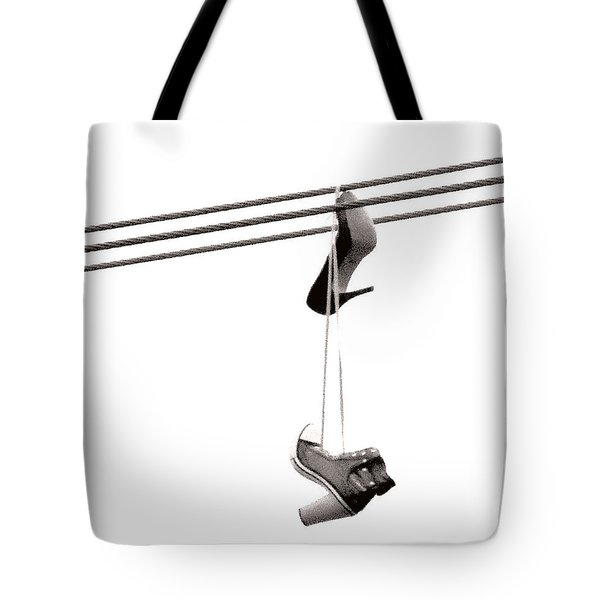 Tote Bag featuring the photograph Hers by Linda Hollis