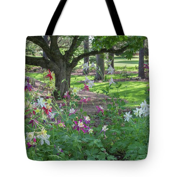 Tote Bag featuring the photograph Hershey Gardens 1 by Chris Scroggins