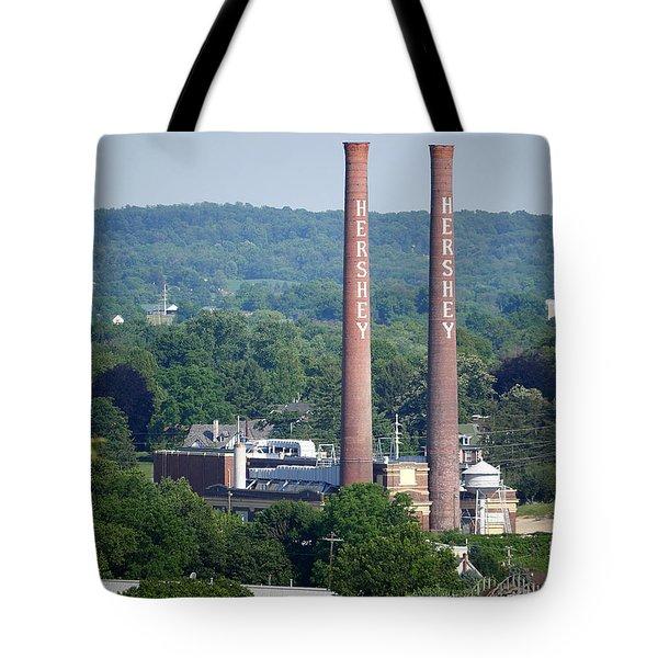 Hershey Smokestacks Tote Bag