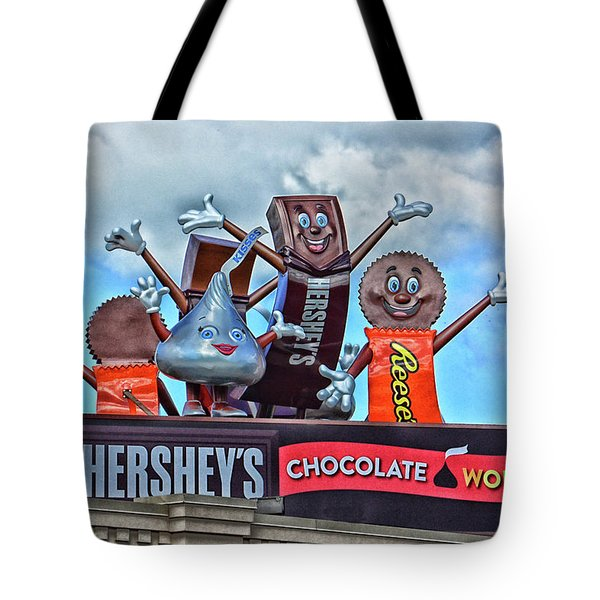 Hershey's Chocolate World Sign Tote Bag