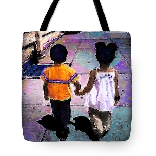 Heru And Olivia Tote Bag
