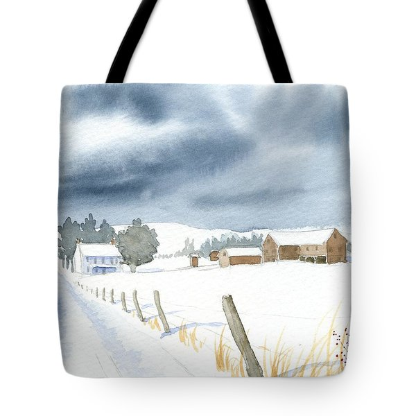 Hester Homeplace Tote Bag by Denise   Hoff