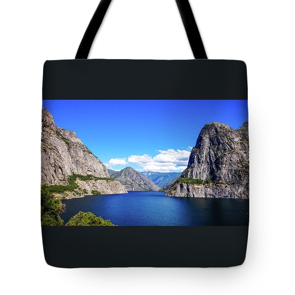 Hetch Hetchy Reservoir Yosemite Tote Bag