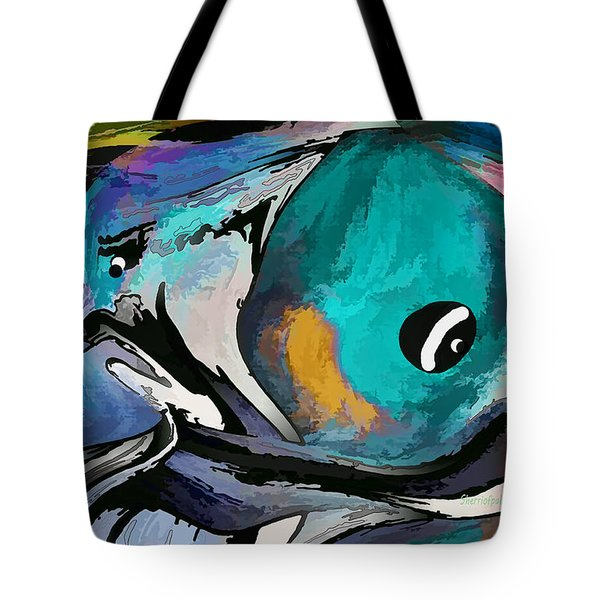 Hey Guy I Am Silly Willy The Fish Tote Bag