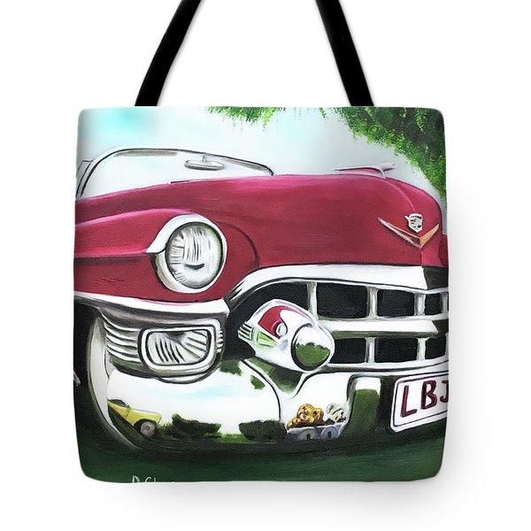 Hey Hey Lbj Tote Bag