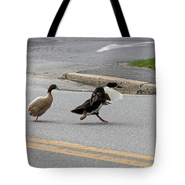 Hey, No Wings Allowed Tote Bag