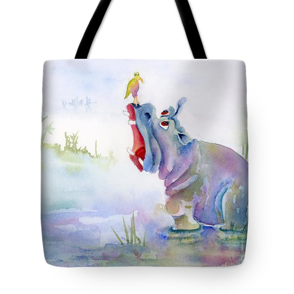 Hey Whats The Big Idea Tote Bag by Amy Kirkpatrick