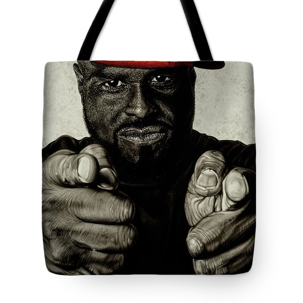 Hey You- Funk Flex Tote Bag