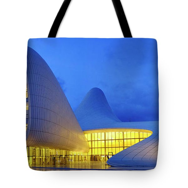 Tote Bag featuring the photograph Heydar Aliyev Center by Fabrizio Troiani