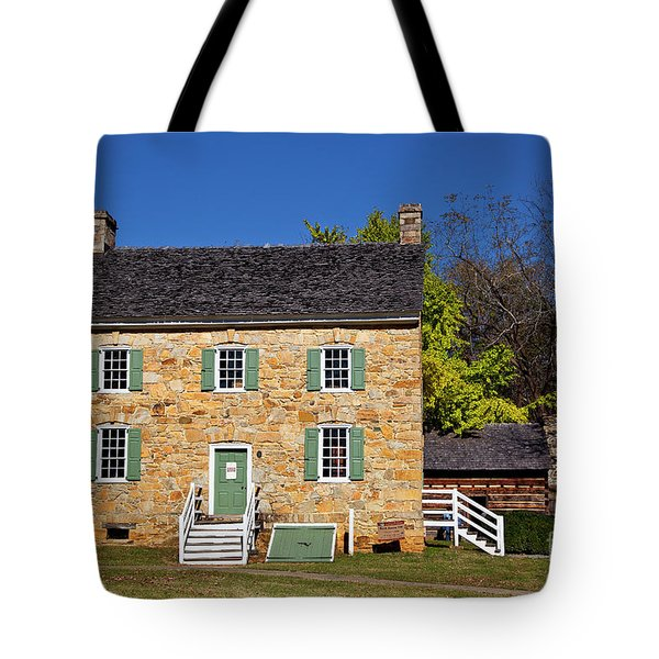 Hezekiah Alexander Homesite Tote Bag