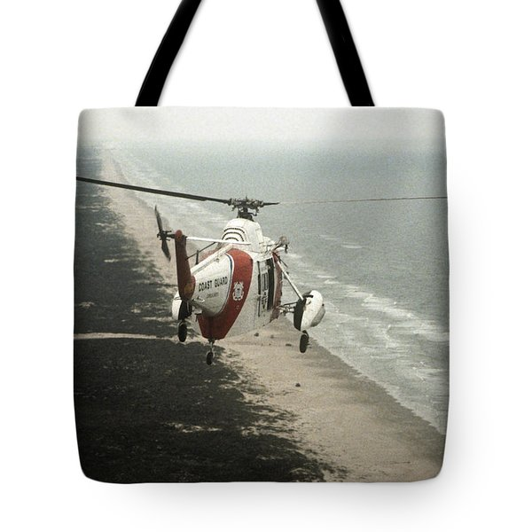 Hh-52a Beach Patrol Tote Bag