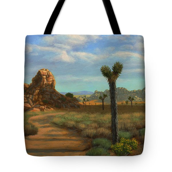 Hi Desert Road Tote Bag