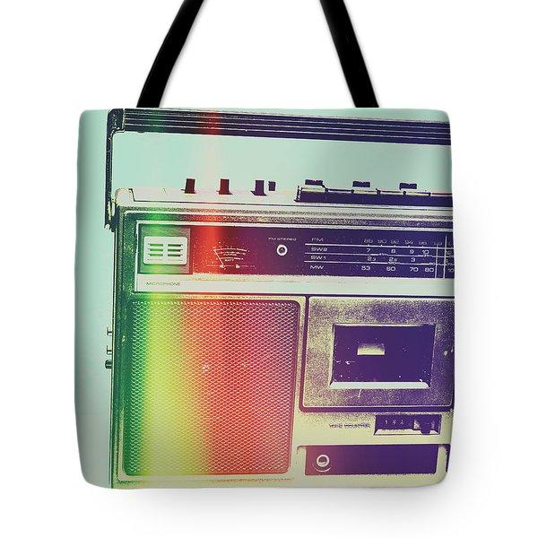 Hi-fi Pop Tote Bag